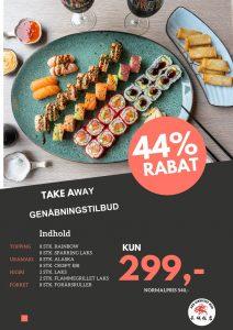genåbening sushi